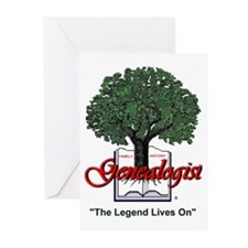 The Legend Lives On Greeting Cards (Pk of 10)