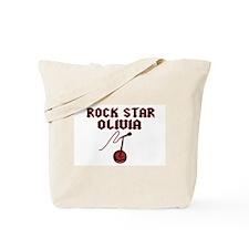 """Rock Star Olivia"" Tote Bag"