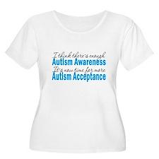 TimeForAcceptance Plus Size T-Shirt