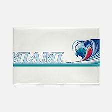 Miami, Florida Rectangle Magnet