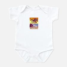 Miami, Florida Infant Bodysuit