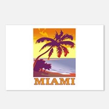 Miami, Florida Postcards (Package of 8)