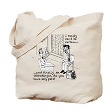 Schrodingers Apartment Tote Bag