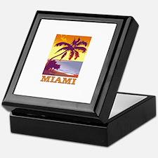 Miami, Florida Keepsake Box