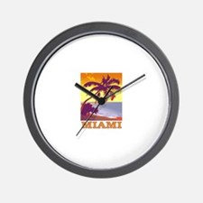 Miami, Florida Wall Clock