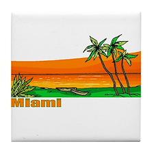 Miami, Florida Tile Coaster