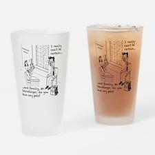 Schrodingers Apartment Drinking Glass