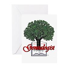 Genealogist Greeting Cards (Pk of 10)