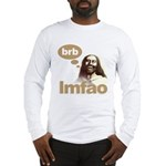 Laughing Jesus Long Sleeve T-Shirt