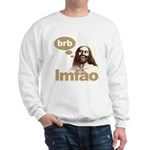 Laughing Jesus Sweatshirt
