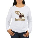 Laughing Jesus Women's Long Sleeve T-Shirt