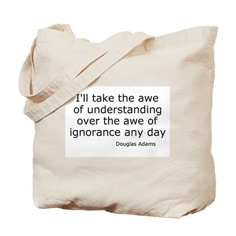 Awe of Understanding Tote Bag