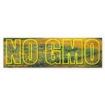 Van Gogh No GMO Bumper Sticker