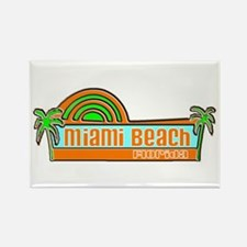 Miami Beach, Florida Rectangle Magnet