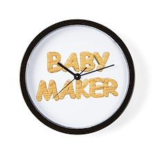 Baby Maker Wall Clock