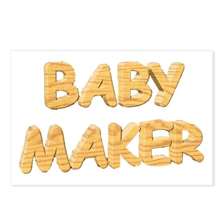 Baby Maker Postcards (Package of 8)