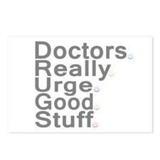 Doctors Really Urge Good Stuff Postcards (Package