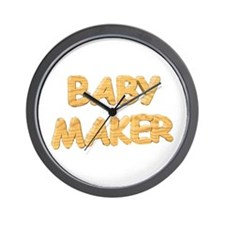 BABY MAKER for pregnancy Wall Clock