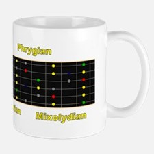 Guitar Scale Patterns - Right Handed Mug