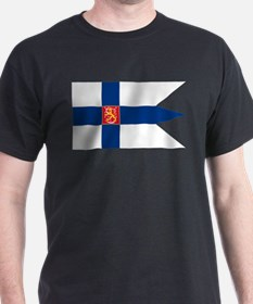 Naval Ensign of Finland T-Shirt