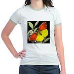 THE BUTTERFLY Jr. Ringer T-Shirt