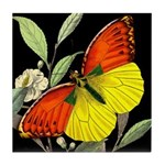 THE BUTTERFLY Tile Coaster