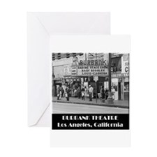 Burbank Theatre Greeting Cards
