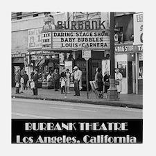 Burbank Theatre Tile Coaster
