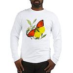 WILD ORANGE BUTTERFLY Long Sleeve T-Shirt