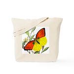 WILD ORANGE BUTTERFLY Tote Bag