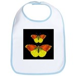 TWO BUTTERFLIES Bib