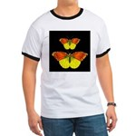 TWO BUTTERFLIES Ringer T