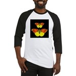 TWO BUTTERFLIES Baseball Jersey