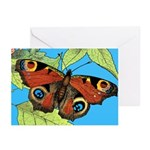 BUTTERFLY WINGS Greeting Cards (Pk of 10)