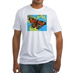 BUTTERFLY WINGS Fitted T-Shirt