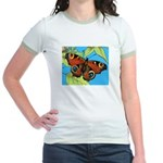 BUTTERFLY WINGS Jr. Ringer T-Shirt