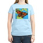 BUTTERFLY WINGS Women's Pink T-Shirt