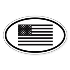 American Oval Decal