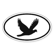 Bird/Avian Oval Decal
