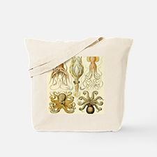 Vintage Octopus, Octopi Tote Bag