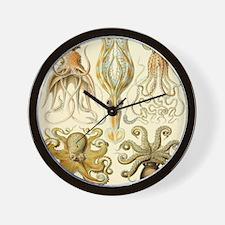 Vintage Octopus, Octopi Wall Clock