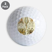 Vintage Octopus, Octopi Golf Ball