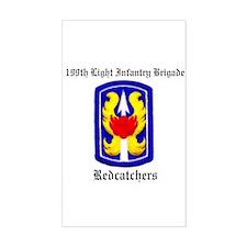 199th Light Infantry Brigade Decal