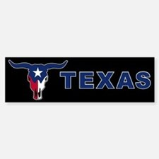Texas Bumper Car Car Sticker