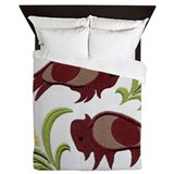 Queen bed native american Luxe Full/Queen Duvet Cover