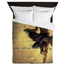 Dancing in the Rain Queen Duvet