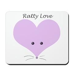 Ratty Love Mousepad