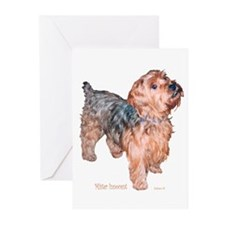 Silky Terrier Mister Innocent Greeting Cards (Pack