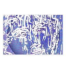 MOON BATIK Postcards (Package of 8)