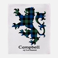 Lion - Campbell of Lochawe Throw Blanket